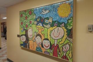 Photo mosaïque de l'école